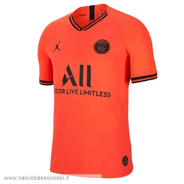 Thailandia Away Paris Saint Germain 2019 2020 Arancione Kit Calcio